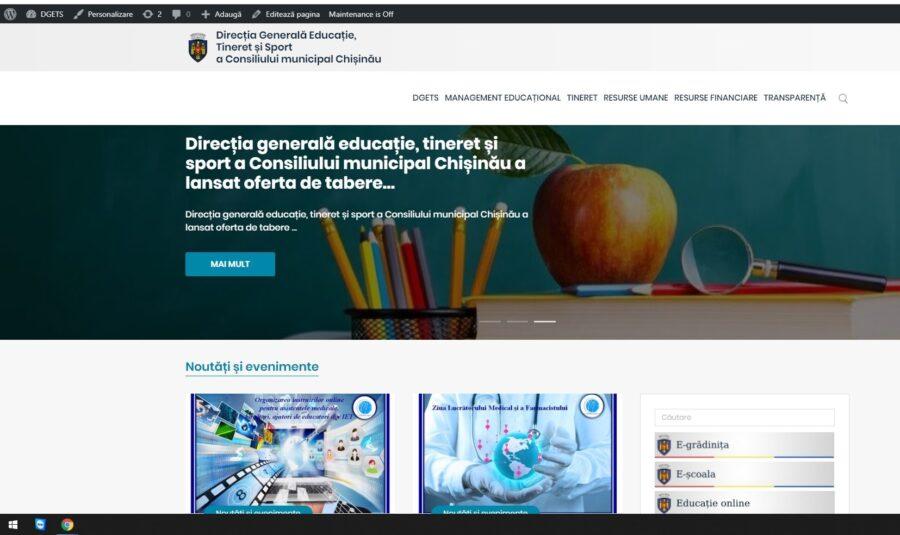site- ul online al comunității